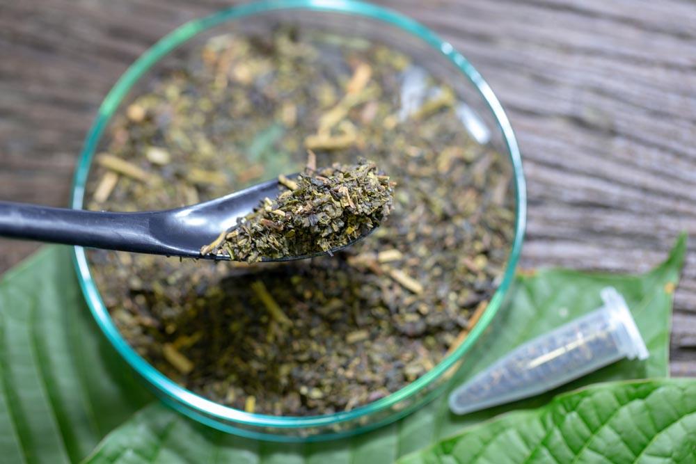 kratom ground leaves for capsules