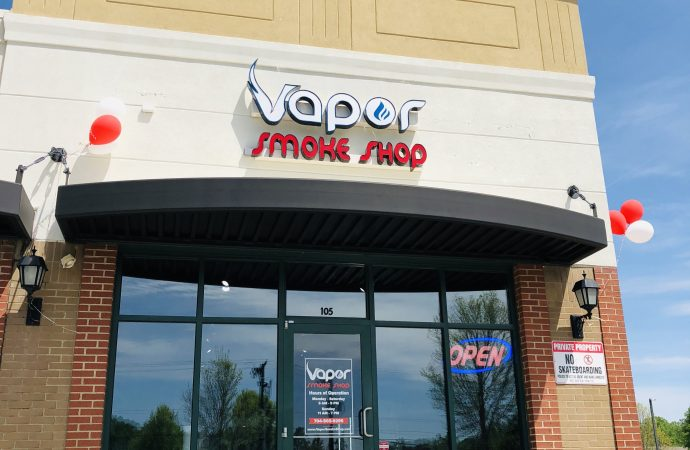 Vapor Smoke Shop: Ballantyne's First Smoke Shop with a CBD and Kratom Bar is Now Open in The Shoppes at Ardrey Kell